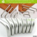 Tractions personnalisées de traitement de meubles de cuisine de forme de l'acier inoxydable U