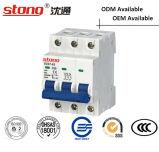 Миниое высокое качество 1-63A автомата защити цепи с индикатором 2p