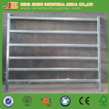 China Abastecimiento de la fábrica 6 carriles Oval Tube Cattle Fence Panel