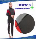Wetsuit prático feito sob encomenda do neopreno do preço de fábrica para o mergulho que surfa (disconto grande)