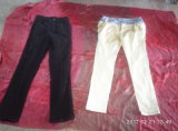 High Quality Textile Recycling Ladies Cotton Pants Used Clothing Exporters Canada