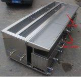 Rondelle ultrasonique d'abat-jour et d'obturateur avec 2 réservoirs et chaufferette d'acier inoxydable