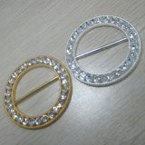 Popular Popularidade Round Rhinestone Buckle for Wedding Invitation