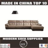 Sofà moderno Lz8803 del cuoio genuino del salone