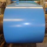 PPGI et a enduit la bobine d'une première couche de peinture galvanisée (Ral 5021)