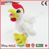 귀여운 견면 벨벳 수탉 박제 동물 연약한 닭 장난감