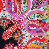 100%Silk Scarf Hijab Head Cover para el turco de Muslim Irán (MSS0010)