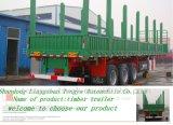 中国製半材木のトレーラーの三車軸