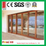 Portes coulissantes en aluminium et Windows en verre Tempered de double vitrage