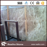Laje de mármore clara de Spain Emperador para a parede da entrada do elevador