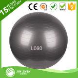 Анти- шарик тренировки пригодности гимнастики PVC взрыва No1-27 при напечатанный логос