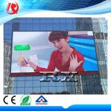 Panneau imperméable à l'eau polychrome d'Afficheur LED de l'écran RVB de la publicité extérieure P10 DEL