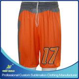 Shorts uniformi del gioco di calcio degli uomini su ordinazione di sublimazione per usura di calcio