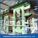 (Dingchen-1575mm) Doppelter Zylinder und doppelter Draht-gewölbtes Papier-Produktionszweig mit 10t/D