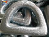 콘테이너를 위한 위조된 망간 강철 D-환형물 또는 포트 또는 배