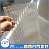 Light Weight Resistência ao fogo Twin Wall Hollow Polycarbonate Plate