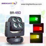 4*60W DMX512 bewegliche helle Stadiums-Hauptbeleuchtung der Wäsche-LED