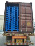 """1200X1100 (48 """" X44) de Goedkope Stop van Vier Manier in de Gebruikte Plastic Pallets van de Uitvoer Verzending"""