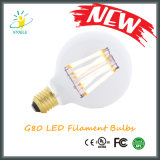 G25 / G80 / G95 / G125 Clear Amber Vintage Luz Dimmable LED Filament Bulb