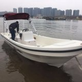 18FT FRP Outboard Type Center Console Barco de pesca Venda quente