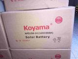 do gel profundo do ciclo de 12V 150ah bateria solar para o sistema solar