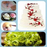 Het in reliëf maken van de Cake die van de Ambacht van de Suiker van de Deegrol de Hulpmiddelen van de Snijders van de Duiker van het Koekje van het Fondantje verfraait
