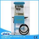 Carrello mobile della macchina del popcorn della caramella commerciale elettrica antiquata automatica della caldaia dalle 8 once da vendere il prezzo