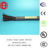 Cat3 de interior escogen el cable de Ethernet del establecimiento de una red de la chaqueta 100-Pair