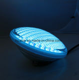 Uso grueso de la luz de la piscina de Glass/PVC LED PAR56 para la piscina concreta del polipropileno