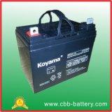 batterie d'acide de plomb de 12V 33ah AGM pour le fauteuil roulant électrique