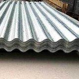 Folha ondulada do telhado
