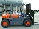 Hydraulischer Dieselgabelstapler des Wenyang Maschinerie-Gabelstapler-5ton