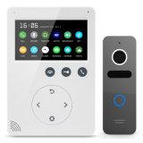 Interphone памяти 4.3 видео- дюйма внутренной связи домашней обеспеченностью телефона двери