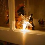 Neues konzipiertes kreatives Stern-Eis-Licht der Faser-2m36LED für Innen-/Raum-/Kaffee-Haus-Dekoration