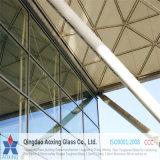 Vidro de flutuador desobstruído da folha para o certificado de vidro de Ce&CCC&ISO do edifício