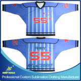 Ice Hockey Game Teams를 위한 주문품 Sublimation Ice Hockey 저어지