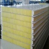 El panel de emparedado incombustible de las lanas de cristal con el aislante de calor