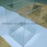 Cadres acryliques clairs promotionnels contemporains de cube
