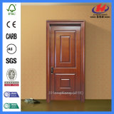Porte en bois intérieure simple de mélamine de Prehung (JHK-MD03)