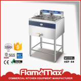 Friteuse de gaz de panier de l'acier inoxydable 2-Tank 2 (HGF-62)