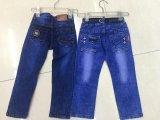 2017 neue Art-Drucken-Loch-Denim-Jeans