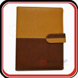 Diario de encargo Orangizer de la carpeta de anillo de la PU 6 de los bolsillos de tarjeta conocida