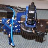 Machine de découpe et gravure au laser pour la coupe d'étiquettes tissées (JM-960H-CCD)