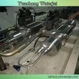 Machine de découpage de jet d'eau avec la pompe de renforçateurs de Doule pour la machine intéressante de qualité