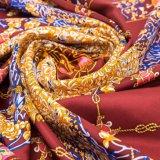 China boa vendendo o lenço novo por atacado impresso Hijab da seda do Twill de Bawal