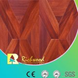 Assoalho laminado V-Grooved da textura do Woodgrain do agregado familiar HDF AC3 HDF