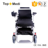 Sale superior Lightweight Electric Travel Power Wheelchair con Storage Bag