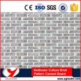 Panneau décoratif multicolore de longue vie de mur extérieur de modèle de pierre de culture