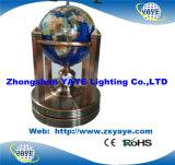 Migliore fabbrica di Yaye 15 anni di esperienza per il globo della pietra preziosa/il globo globo del mondo/pietra preziosa di illuminazione