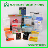 Bildschirmanzeige Plastik Box Packaging Clear mit Printed Items
